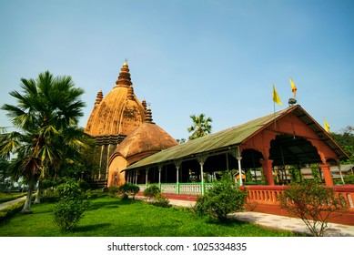Sivadol or Shiva temple was built in 1734 with Shikhara architecture style by queen of Ahom king, Sivasagar district, Assam, India.