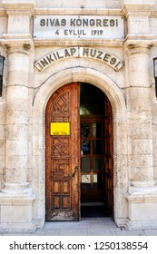 Sivas Kongresi Inkilap museum. Mustafa Kemal Ataturk's 4 Eylul  1919 Sivas Meeting. Sivas City, Turkey.