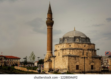 Sivas, Turke - 08-08-2010: Kale Camii, Mosque in the city of Sivas