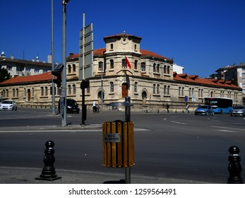 Sivas, Turkey - August 25 2018: Around Sivas Governorship -City Center