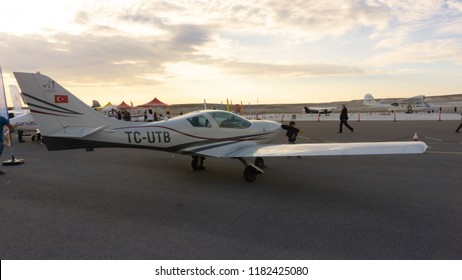 SIVRIHISAR, ESKISEHIR, TURKEY - SEPTEMBER 15, 2018: TC-UTB  JMB VL-3 Evolution Sivrihisar Airshows SHG - Sivrihisar Hava