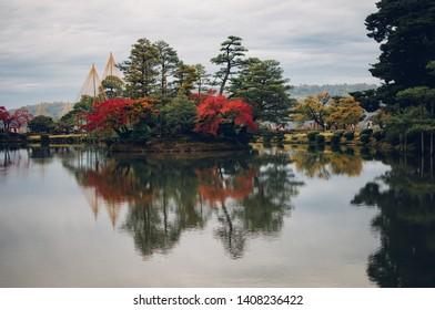 Six Attributes Garden (Kenroku-en) located in Kanazawa. it's one of the Three Great Gardens of Japan.