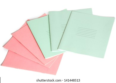 Six exercise books for learning