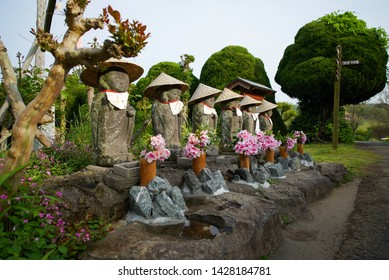 Six Jizo in the park