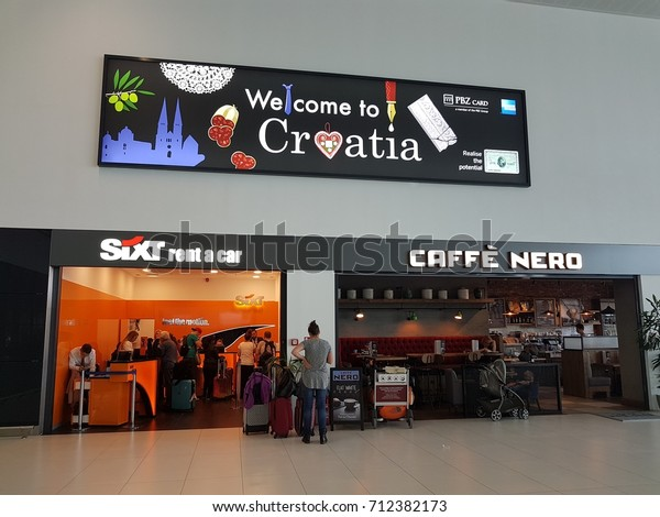 Sixt Rent Car Office Airport Zagreb Stock Photo Edit Now 712382173