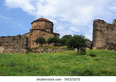 Sixth century Georgian Orthodox monastery near Mtskheta 12 miles north of Tbilisi