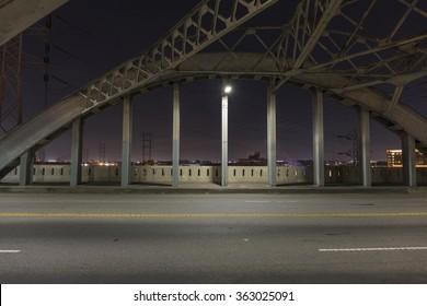 Sixth Street Bridge Night