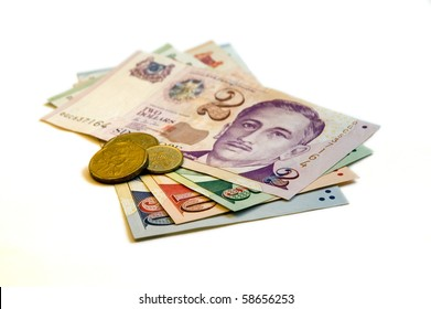 Sixty seven Singapore Dollars and change on a white background.