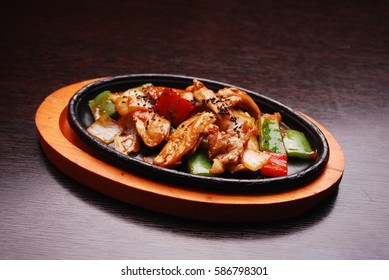 sizzling chicken