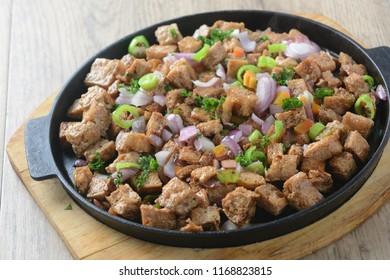 Sizzling Filipino Tofu