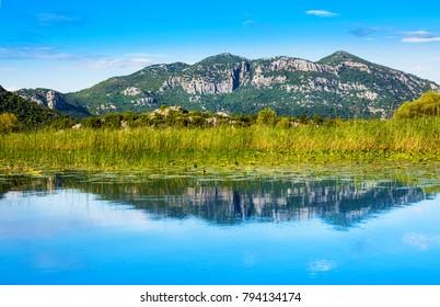 Skadar Lake Montenegro