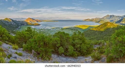 Skadar Lake National Park and Crnojevica River of Montenegro