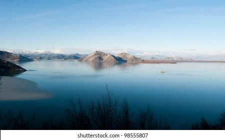Skadar lake view from Rumia