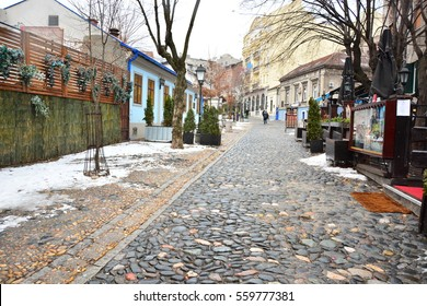 Skadarlija Street-Belgrade-Serbia