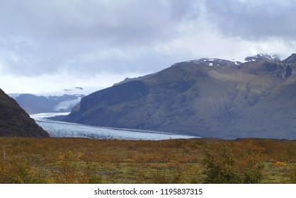 Skaftafell glacier, Vatnajokull National Park, Iceland