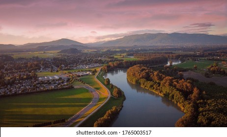 Skagit Valley and Skagit River of Washington State