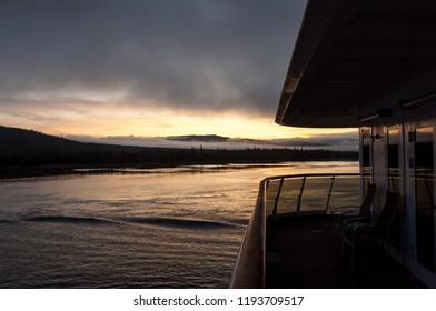 Skagway, Alaska/USA - Sep 9 2009: Alaska Cruise