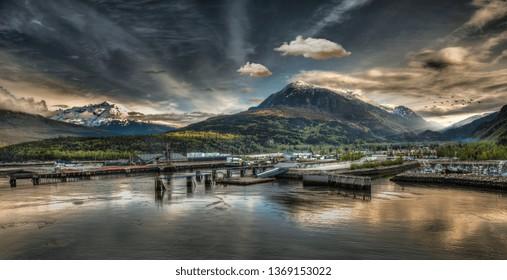 Skagway Bay, Alaska