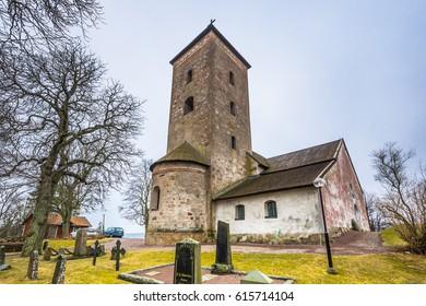 Skanela, Sweden - April 1, 2017: Skanela Church, Sweden