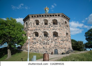 Skansen Kronan, old fortress in Gothenburg city downtown