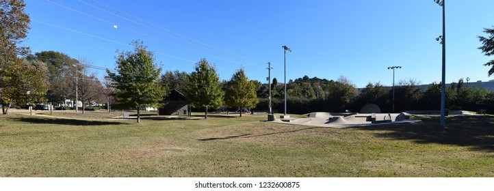 Skate Park in Oxford Mississippi