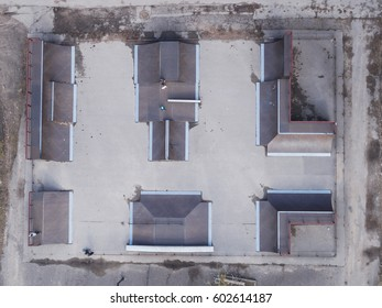 Skate park - Top Aerial view
