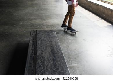 Skateboard Extreme Sport Skater Park Recreational Activity