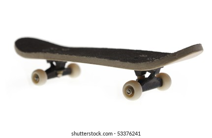 A skateboard isolated, CLIPPING PATCH