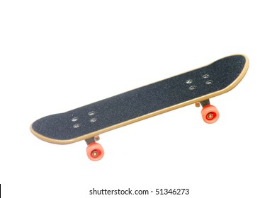 skateboard isolated on the white background