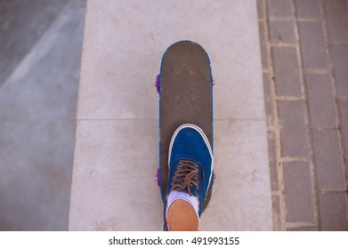 skateboard with wheels for an active lifestyle, adventure sports for youth