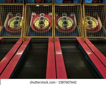 Skee Ball Games Arcade Entertainment