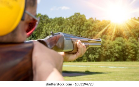 Skeet Shooting. Trap Shooting.