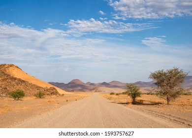 The Skeleton Coast is a windswept strip of desert covering almost 500km/310mi of Atlantic coast - Namibia