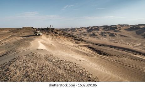 The Skeleton Coast is a windswept strip of desert covering almost 500km/310mi of Atlantic coast - Skeleton Coast, Namibia