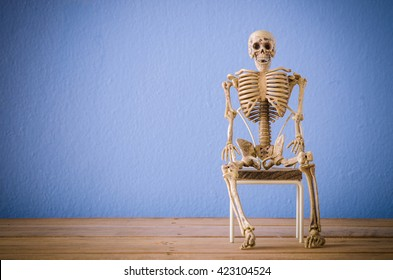 Skeleton On Chair Images, Stock Photos & Vectors | Shutterstock