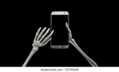 Skeleton Using Cell Phone