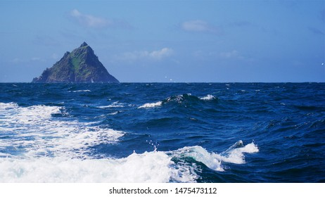 Skellig Michael, Co. Kerry, Ireland (a.k.a. Luke Skywalker's hermitage on planet Ahch-To)