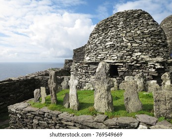"Skellig Michael, IRELAND's World Heritage, also know as the ""Star Wars"" Island"