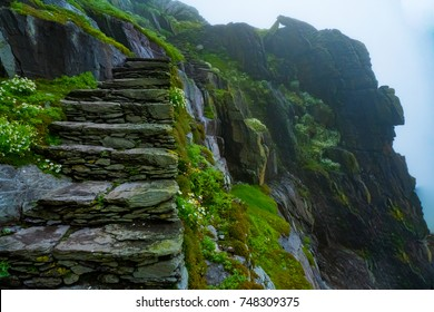 Skellig Michael Stairs, Ireland