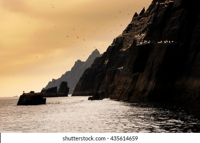 Skellig Michael, UNESCO World Heritage Site, Kerry, Ireland. Wild Atlanic way