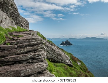 Skelligs off the coast of Kerry, Ireland - where Star Wars was shot!