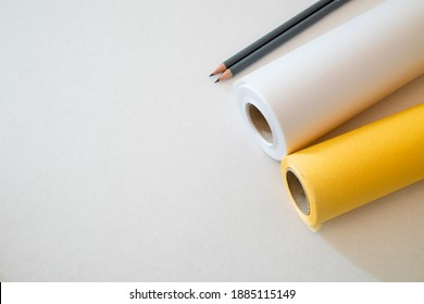 Sketch Paper Rolls for Tracing, Drawing or Drafting