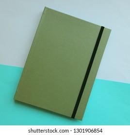 Sketchbook notebook paper color photo