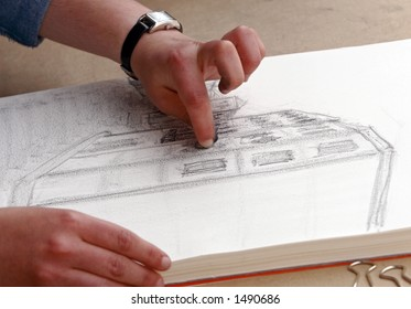 Sketching a picture