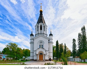 Skete of All Saints on the Valaam island, Karelia in Russia