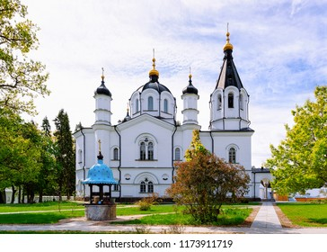 Skete of All Saints in the Valaam island, Karelia in Russia