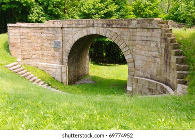 skewed arch stone bridge