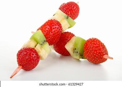 skewer fruit