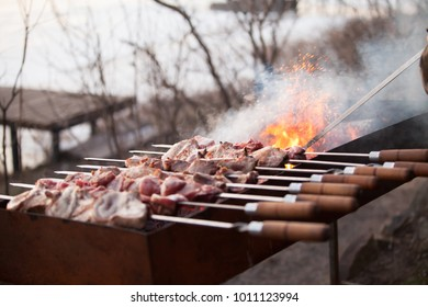 Pulled Pork Gasgrill Jagung : Delicious grilled satay sate indonesian traditional food stock photo