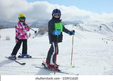 ski children